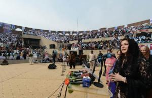 PML-N Central Leader Maryam Nawaz Sharif  addresses on Laptop distribution Ceremony