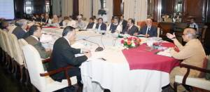 cm talking to parliamenterians