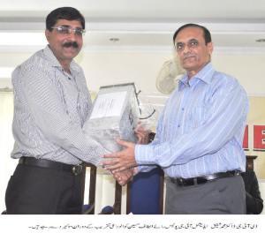DIG Dr Shafique ,Add.IG Rai Altaf Hussain