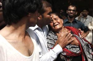 Peshawar blast in a church 3