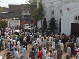 Peshawar blast in a church 8
