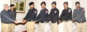 reward lahore police