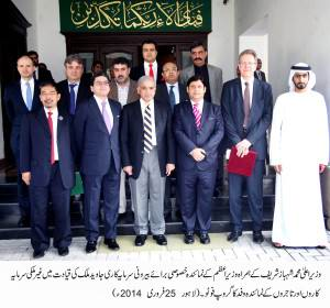 A delegation of _foreign _investors _and_ traders _call on_ CM _Punjab
