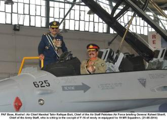 CAS briefing COAS in F-16