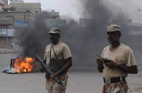 Riots in Karachi 2