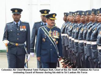 Air Chief visits Sri Lankan Air Force
