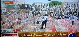 IK addressinng empty chairs