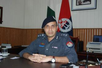DIG Operations Dr Haider Ashraf