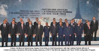 Deputy Chief of the Air Staff (Operations) with Turkish high ranking officials