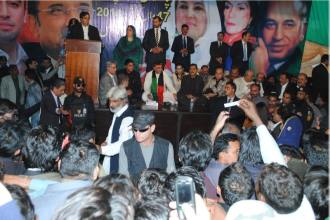 PPP will come into action but not against democracy: Asif Ali Zardari