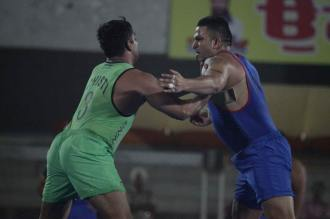 Royal Kings USA defeated Lahore Lions in World Kabaddi League match