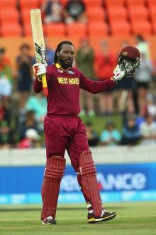 Chris Gayle led the Windies Celebrations after qualified for World Cup