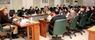 Punjab police to get DATA from  NADRA to compile POs directory Mushtaq  Ahmad Sukhera