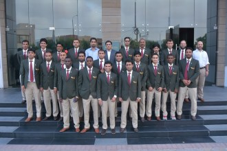 K-Electric's 17 man squad leaves for the Asian Football Confederation Cup Qualifiers for Bhutan