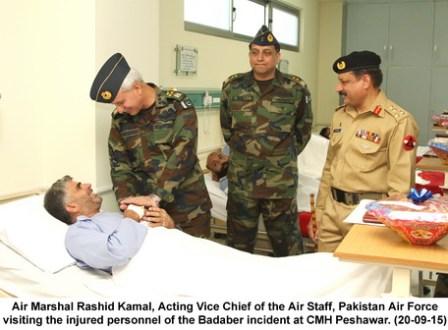 Air Marshal Rashid Kamal, Acting Vice Chief of the Air Staff