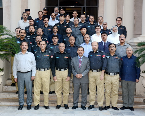 IGP gives a farewell reception in the honor of the retired Addl: IGP