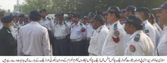 Traffic police staff to strictly enforce traffic control plan during Muharram