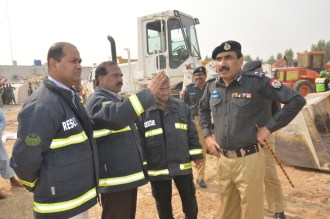 CCPO Lahore is examining the rescue operation at Sundar