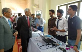 Robotics competition RoboSprint-2015 held at the Main Campus of PAF-KIET