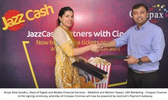 Aniqa Afzal Sandhu, Head of Digital & Mobile Financial Services – Mobilink ,JazzCash to Offer a One-Touch Solution for Ticket Purchase at Cinepax