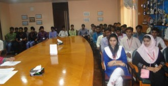 iobm-held-a-welcome-ceremony-for-43-students-from-districts-of-rural-sindh