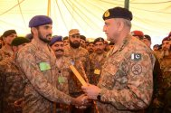 General Qamar Javed Bajwa visited elite Strike Corps at Multan Garrison
