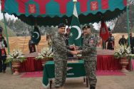 Change of command ceremony held at Rangers Headquarters