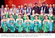 The Chinese artistes warmly welcomed at Lahore