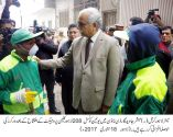 Mayor Lahore lauds the efforts of SMU-Law & Order team
