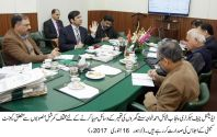 Cabinet committee reviews low cost housing schemes projects