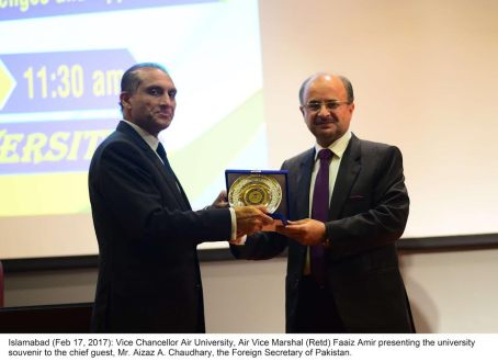 CPEC challenges must be tackled positively; Foreign Secretary Aizaz Ch