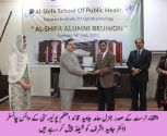 Reunion celebrated at Al-Shifa School of Public Health