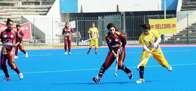 Punjab Whites defeated United Women Hockey Academy 2-0