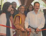 APTMA Chairman Aamir Fayyaz inaugurates painting exhibition