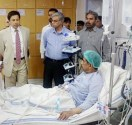 Secretary Health Najam Shah visited Mayo Hospital