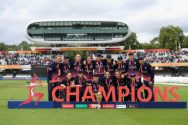 England won its fourth title at Lord's