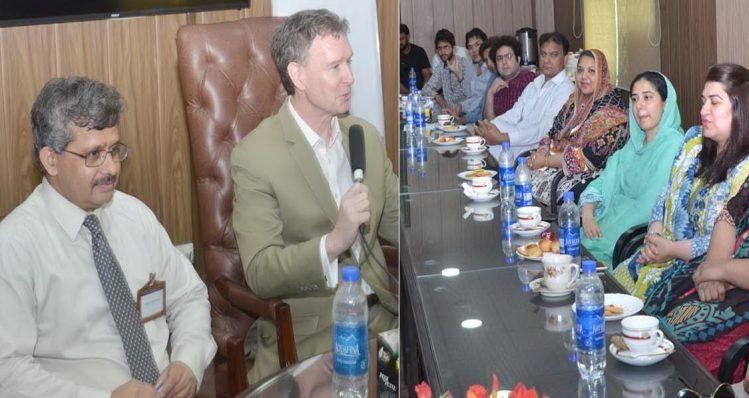 US consulate members visit Punjab University ISCS | Lahore