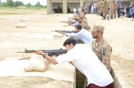 UCP students spent a day out at Lahore Garrison
