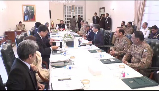 PM Shahid Khaqan Abbasi chaired meeting of NSC