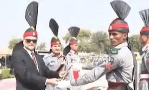 596 recruits pass out at Pakistan Rangers Academy Mandi Baha-Ud-Din
