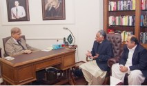 Shahbaz Sharif met the Parliamentarians