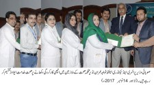 Minister Health distributes Khidmat Award