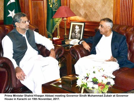 Government fully focused on development of Sindh : PM Abbasi