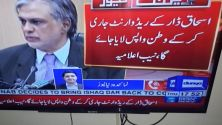 NAB to issue Red Warrants of federal minister Ishaq Dar