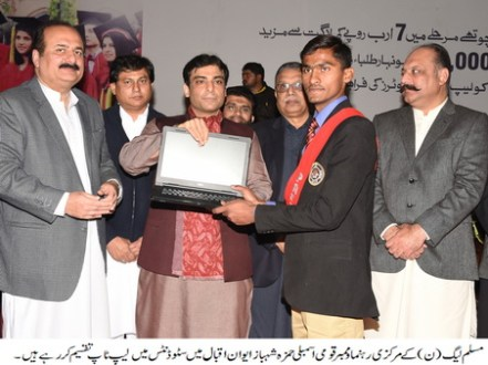 Timely elections vital for country's future : Hamza Shahbaz