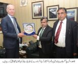 Ambassador of Norway H.E. Nedrebo Tore called on VC Dr Zakria