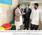 Isolation ward established in all Hospitals of Punjab