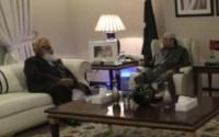 JUI-F chief Maulana Fazal ur Rehman called on Asif Ali Zardari