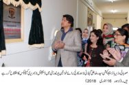 Syed Raza Ali Gillani inaugurates digital library at LCWU