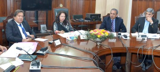 Dr. Ayesha Ghaus Pasha reviews Punjab budget 2017-18 preparations
